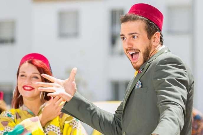 Le chanteur populaire marocain Saad Lamjarred.
