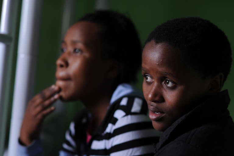 Deux adolescentes sud-africaines qui ont subi un mariage forcé se sont enfuies et réfugiées dans un centre de soins à Palmerton.