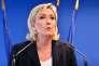 Marine Le Pen au siège du Frant national à Nanterre en juillet 2016.