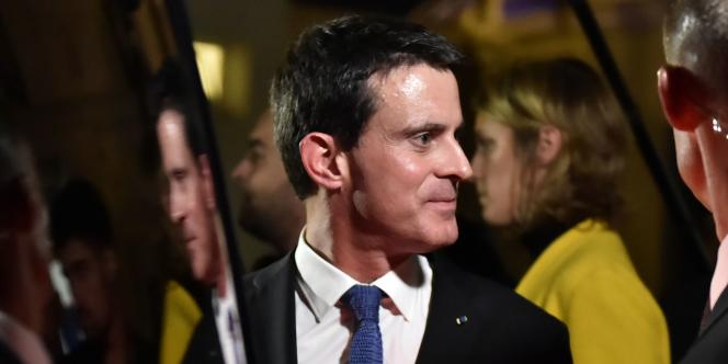 le premier ministre Manuel Valls, le 27 octobre à Mérignac.