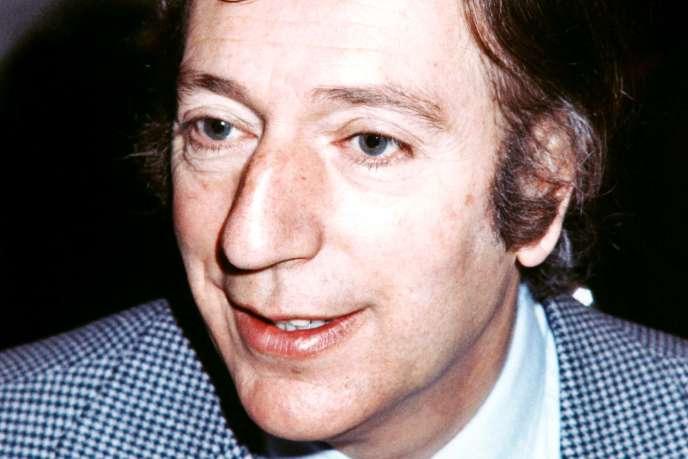 Le trompettiste Georges Jouvin, en janvier 1976.