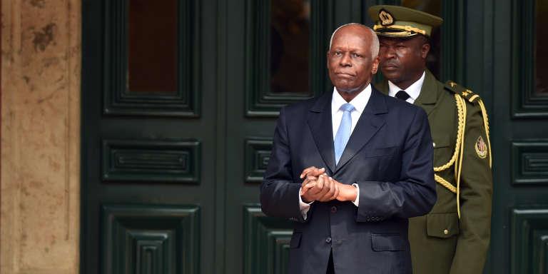 Jose Eduardo dos Santos, le président angolais, à Luanda, en 2015.