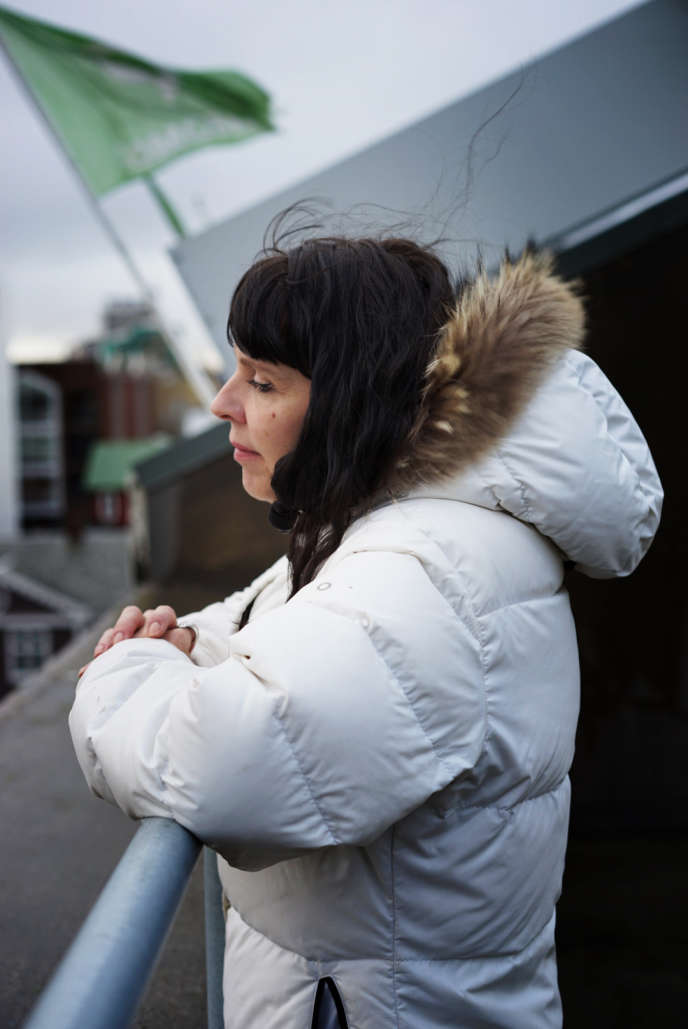 Birgitta Jonsdottir, dirigeante du Parti pirate islandais, Reykjavik, le 27 octobre.