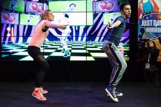 Compétition de Just Dance.