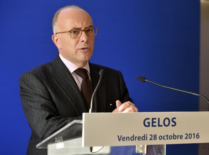 Bernard Cazeneuve, le 28 octobre.