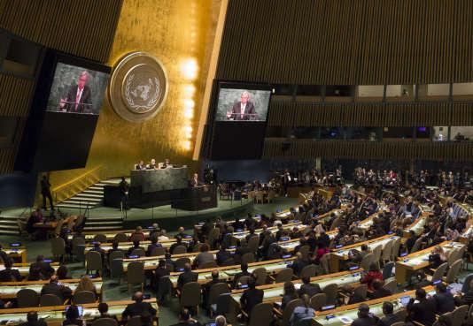 L'Assemblée générale de l'ONU, à New York (États-Unis), le 13 octobre 2016.