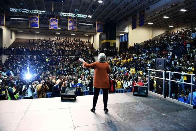 La candidate démocrate à la présidentielle Hillary Clinton, le 27octobre.