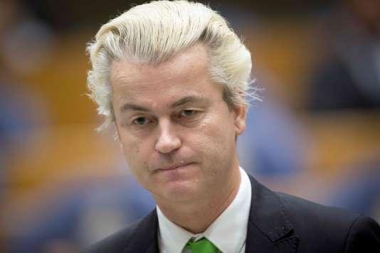 Geert Wilders en décembre 2014.