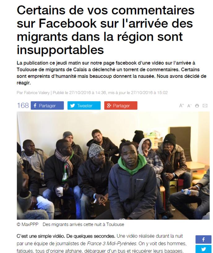 Article sur le site de France 3 Midi-Pyrénées.