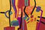 «Matinée récréative» (2015), d'Etel Adnan, tapisserie basse lisse 100%.