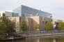 Vue extérieure du Musée d'art moderne et contemporain de Strasbourg.