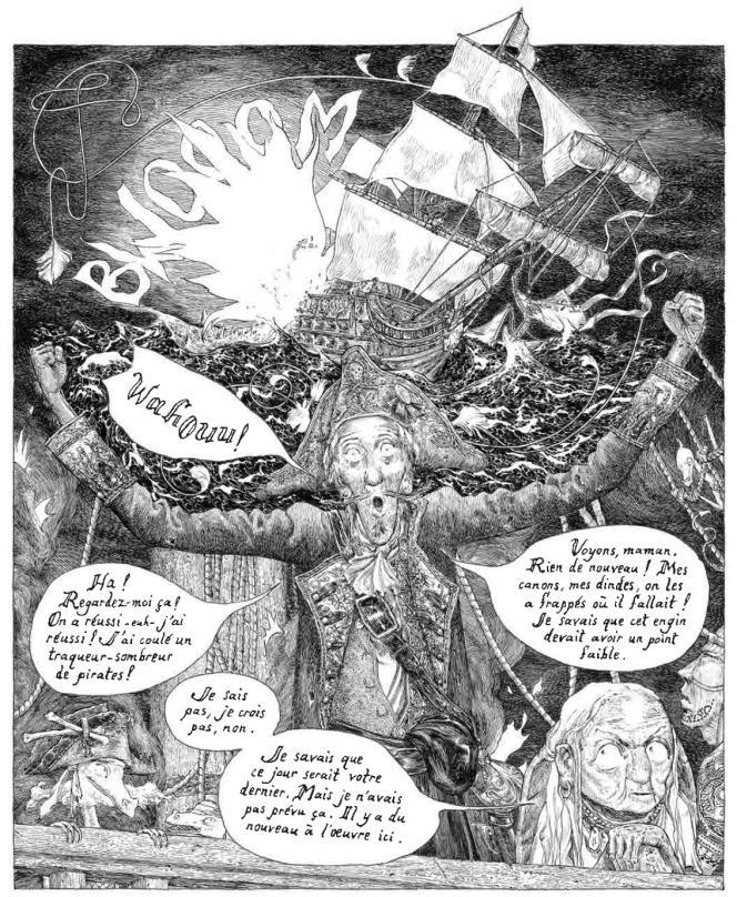 «La Fille maudite du capitaine pirate», de Jeremy A. Bastian.
