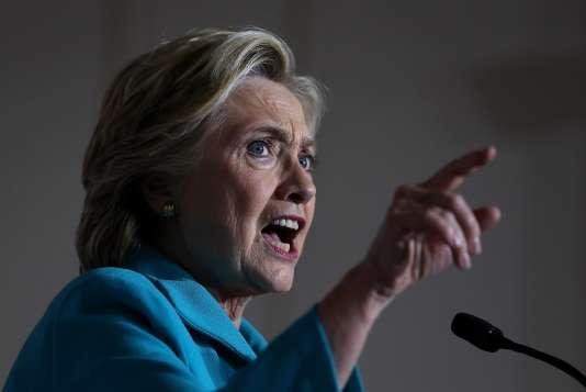 Hillary Clinton lors d'un meeting à Daytona Beach, Floride, le 29 octobre.