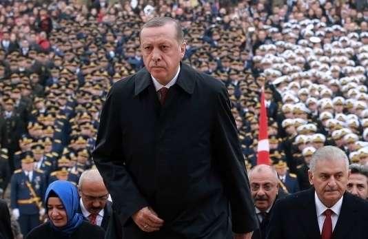 Le président turcRecep Tayyip Erdogan, le 29 octobre.
