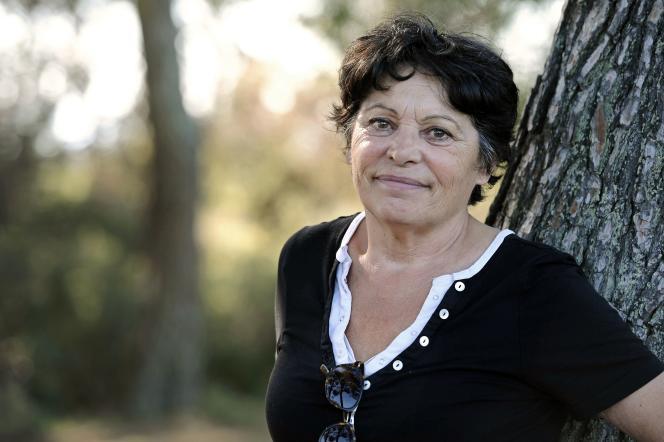 L'eurodéputée Michèle Rivasi le 29 octobre 2016, à Saint-Marc-Jaumegarde, près d'Aix-en-Provence.