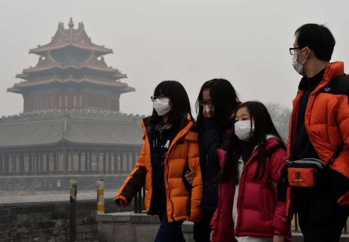A Pékin, en 2014.
