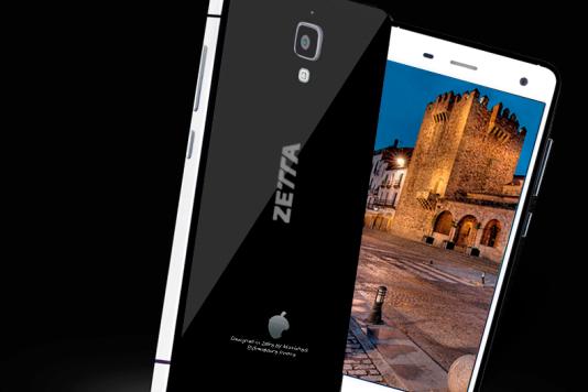 Modèle de smartphone commercialisé par Zetta.