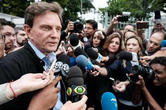 Le candidat évangélique à la marie de Rio de Janeiro Marcelo Crivella, le 30 octobre.