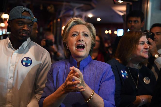 Hillary Clinton à Miami, en Floride, le 30 octobre.