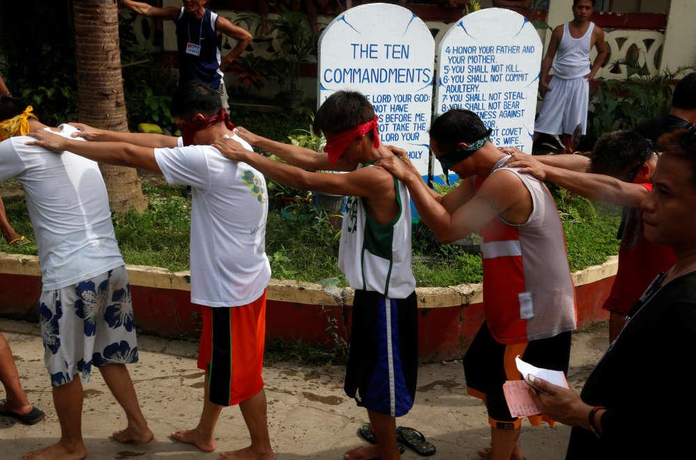 Les Philippines disposent de quarante-quatre établissements de désintoxication, d'une capacité totale de sept mille deux cents places, d'aprèsle directeur exécutif adjoint des opérations, Benjamin Reyes. ALa Union, dans le nord des Philippines, le 24 septembre.