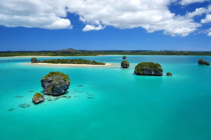 Nouvelle-Calédonie, île des Pins. Ce site fait partie de ceux étudiés par l'expédition scientifique que mène le Muséum national d'histoire naturelle en Nouvelle-Calédonie sur la biodiversité.