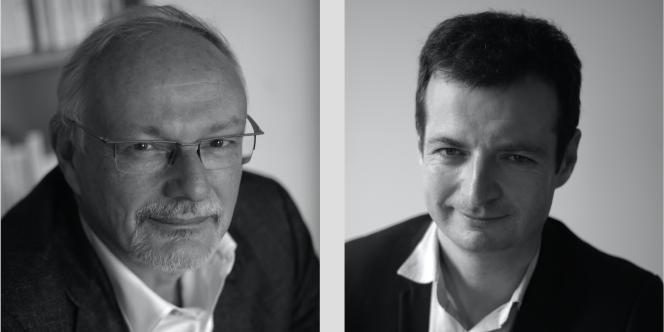 Jean-Michel Severino (à gauche) et Jérémy Hajdenberg, auteurs d'« Entreprenante Afrique» chez Odile Jacob (2016).