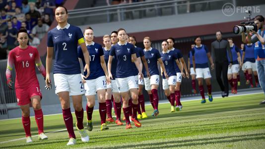 « FIFA 16» intègre pour la première fois des sélections féminines.