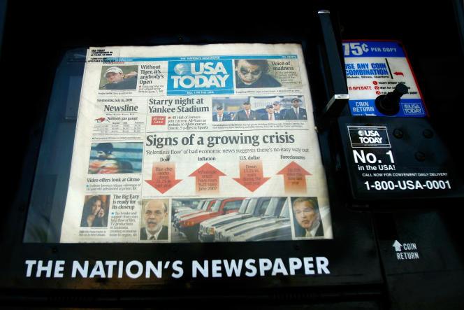 Le groupe propriétaire de «USA Today» a finalement renoncé à racheter son rival «Tronc».
