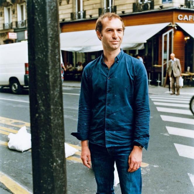 Marc-Benoît Créancier, à Paris,en septembre 2016.