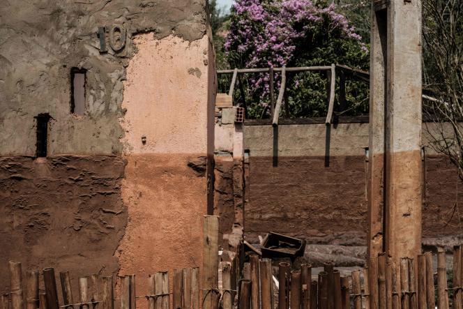 Village de Paracatu de Baixo au Brésil.