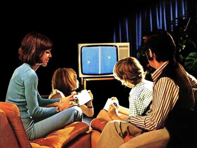 Dans les années 1970, à quelques exceptions près, les publicités pour les jeux sont mixtes.