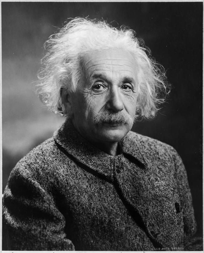 Albert Einstein parOrren Jack Turner, 1947.