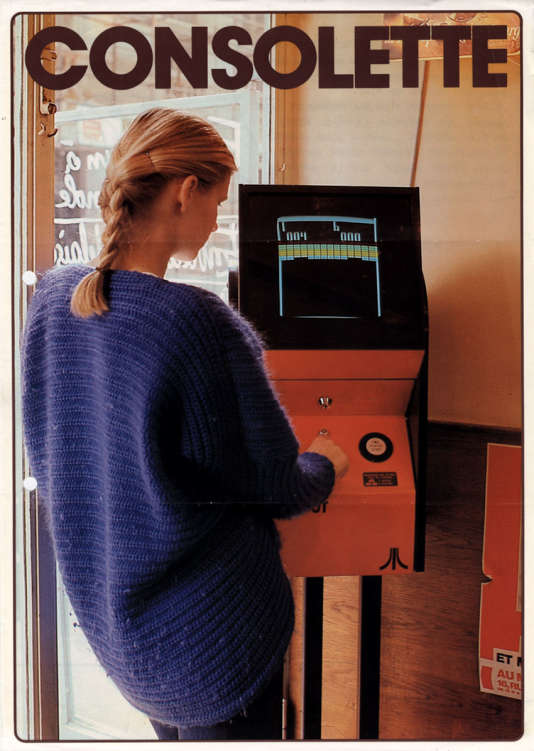 Publicité de 1976 (estimation) pour la« Consolette», un «break-out» standard, adressé aux femmes.