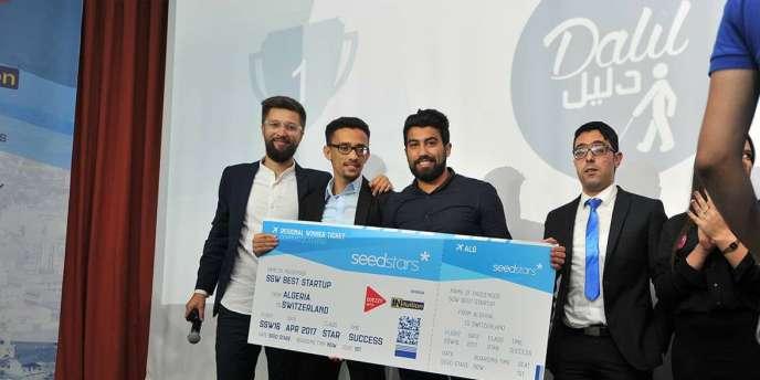 L'application Dalil, destinée à faciliter la vie des non-voyants, a remporté la compétition SeedStars Algérie, le 29 octobre 2016.