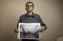 Mauricio Garcia-Pereira, travaille aux abattoirs de Limoges (87) et a choisi de dénoncer, à visage découvert, des maltraitances lors du processus d'abattage. Son portrait à Limoges, le 1 novembre 2016.