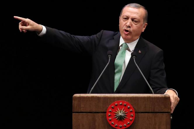 Le président turc, Recep Tayyip Erdogan, à Ankara le 3 novembre.