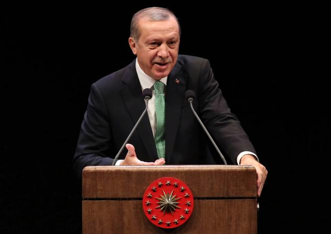 Recep Tayyip Erdogan, à Ankara, le 2 novembre.