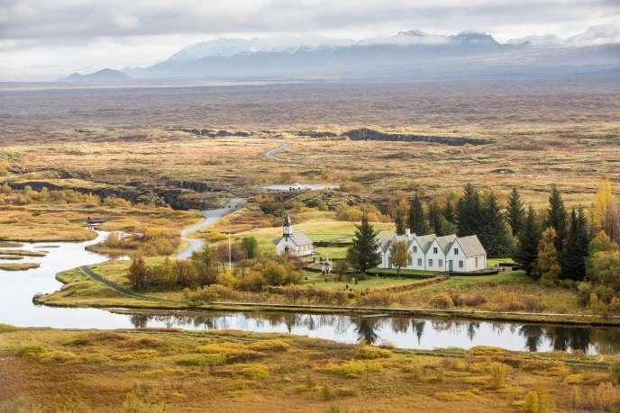 Le parc national de Thingvellir.