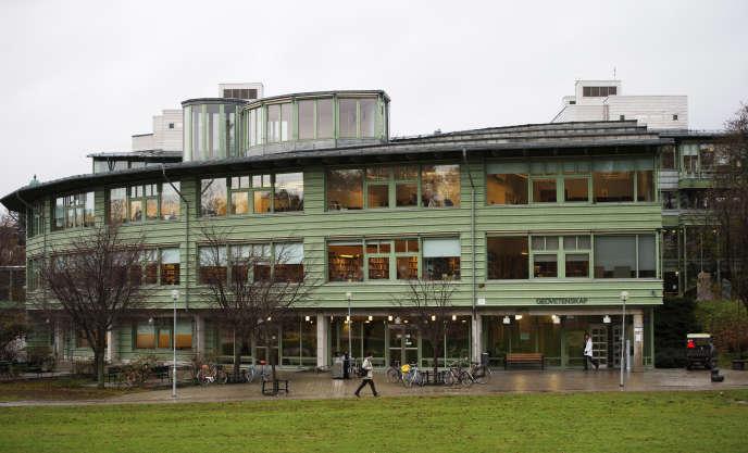 Campus de l'université de Stockholm (Suède), où les étudiants ne paient pas de droits de scolarité et dont la majorité d'entre eux recoivent une bourse.