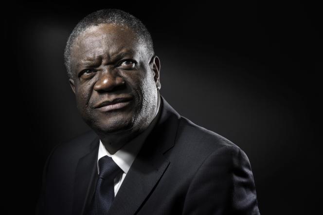 Le gynécologue congolais Denis Mukwege à Paris le 24 octobre.