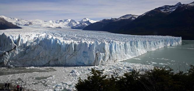 « Compte tenu de la stratégie chinoise, il faut s'attendre à voir émerger à Marrakech (Maroc), qui accueille du 7 au 18 novembre la COP22, une alliance objective entre la Chine et l'Afrique ». (Photo : un glacier du Parc national Los Glaciares dans la province de Santa Cruz, en Argentine, le 17 mars 2014).