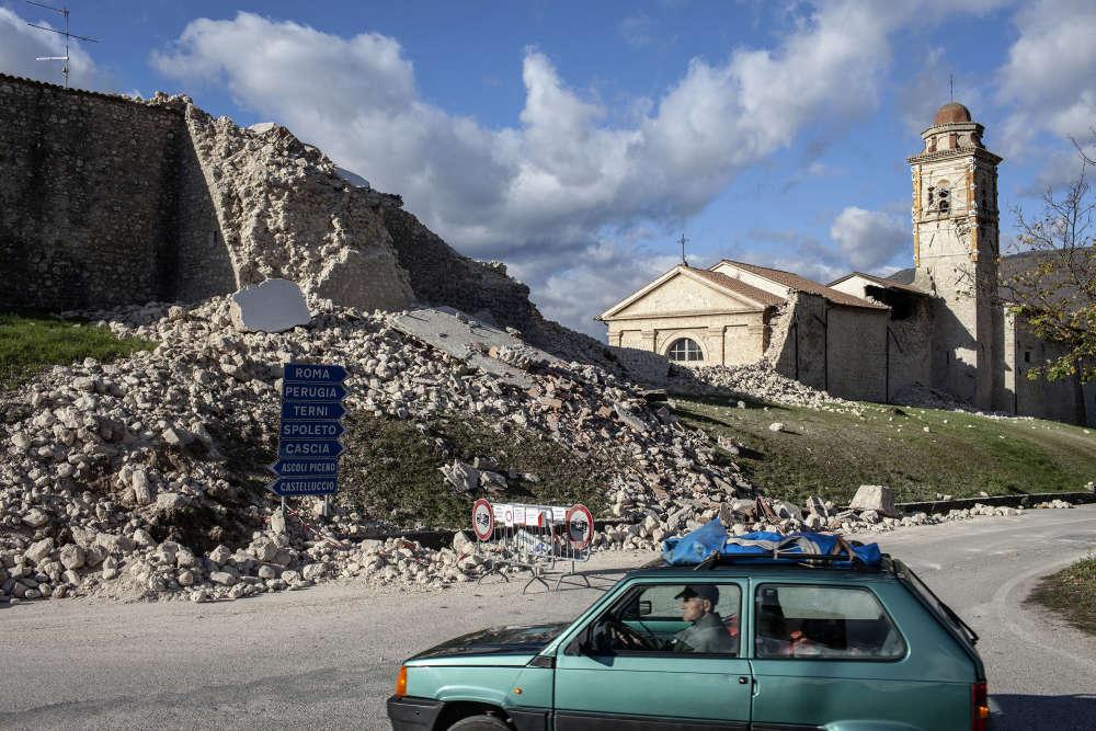 Le centre de l'Italie a de nouveau été frappé le 30 octobre par un séisme, le plus puissant qu'ait connu le pays depuis 1980.