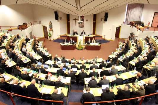 La conférence des évêques de France se déroule à Lourdes jusqu'au 9 novembre.