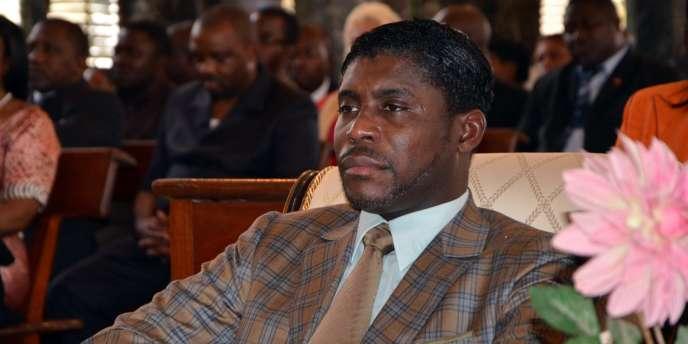 Le vice-président équato-guinéen Teodorin Obiang en 2013.