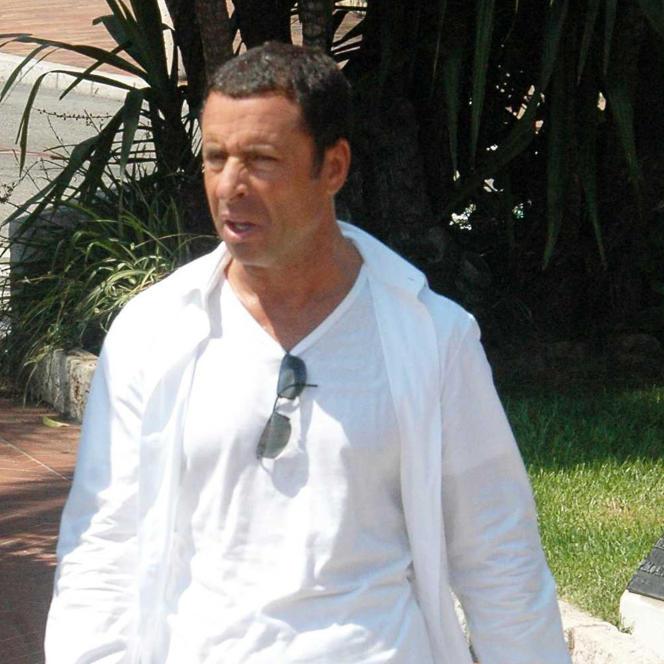 Alexandre Djouhri dans les rues de Monaco en aout 2009.
