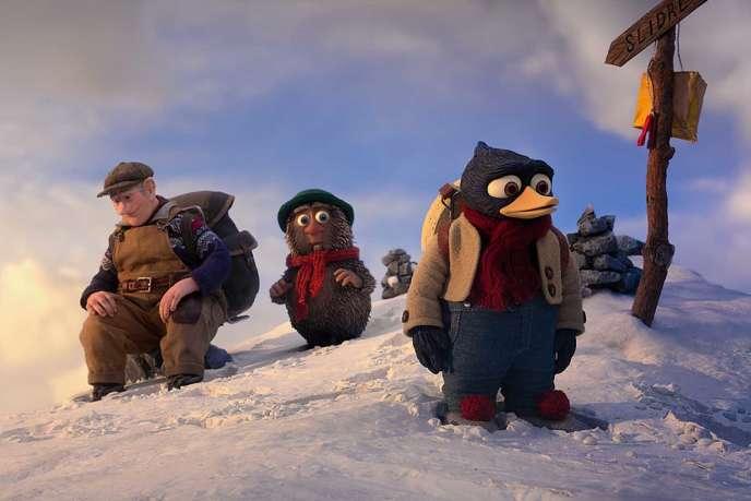 Une image du film d'animation norvégien deRasmus A. Sivertsen,« La Grande Course au fromage» («Herfra til Flaklypa»).