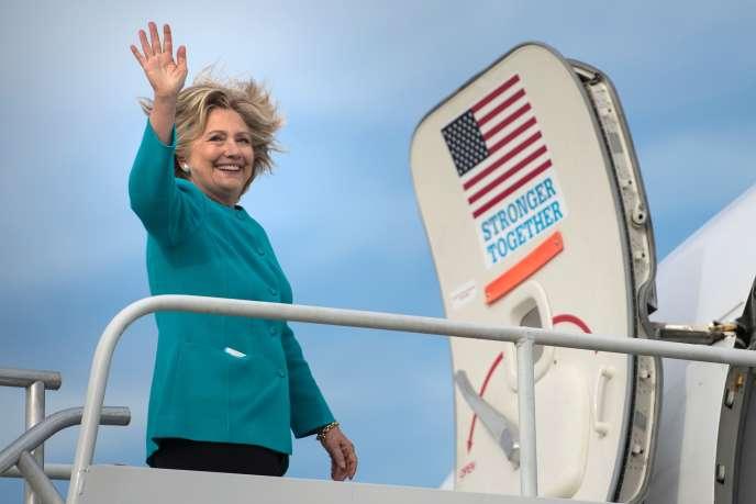Hillary Clinton à Philadelphie, le 6 novembre.