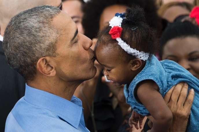 Barack Obama le 6 novembre 2016 en Floride