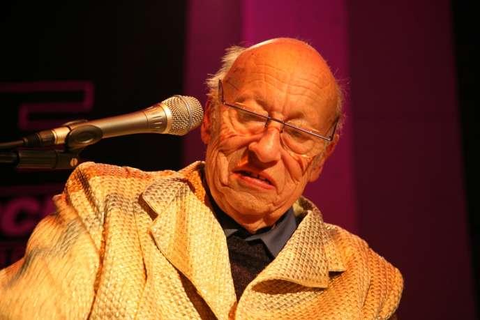 Le compositeur et claviériste Jean-Jacques Perrey.