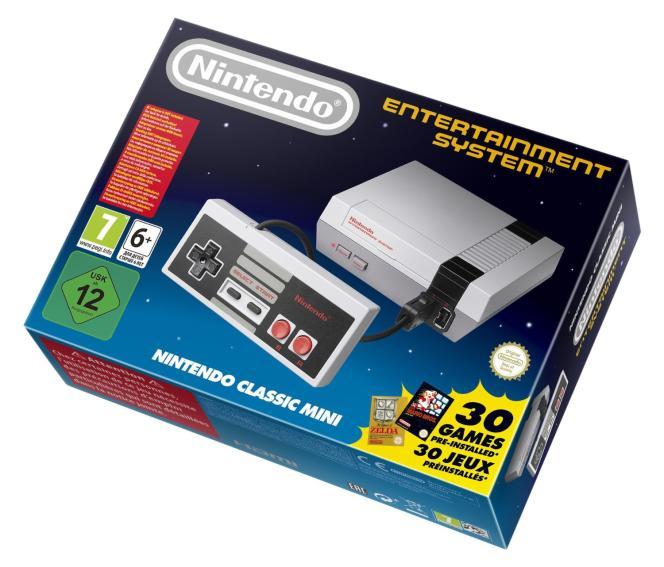 La Nintendo Classic Mini est en rupture de stock dans de nombreux magasins avant même sa sortie.